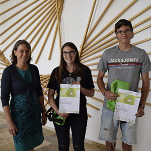 Sieger im Jugendwettbewerb Informatik 2019